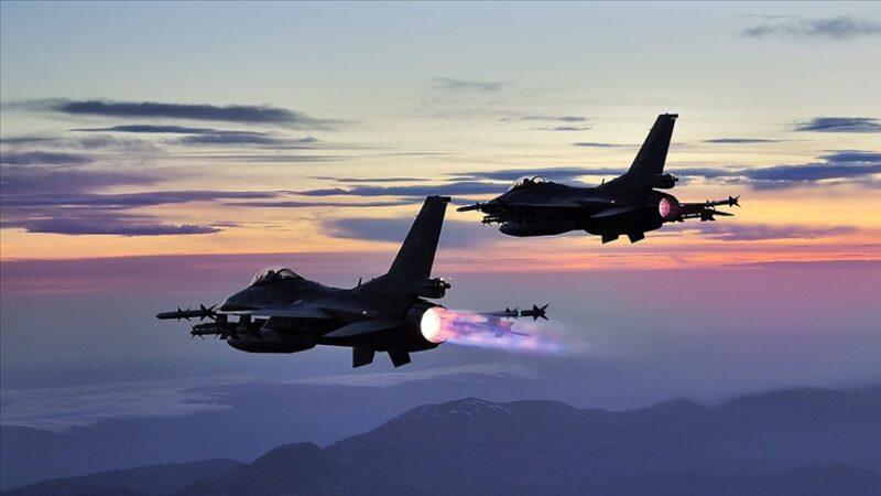 Kuzey Irak'a hava harekatı! 40'a yakın hedef imha edildi