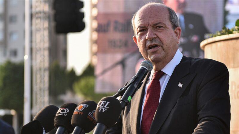 Ersin Tatar'dan Doğu Akdeniz açıklaması