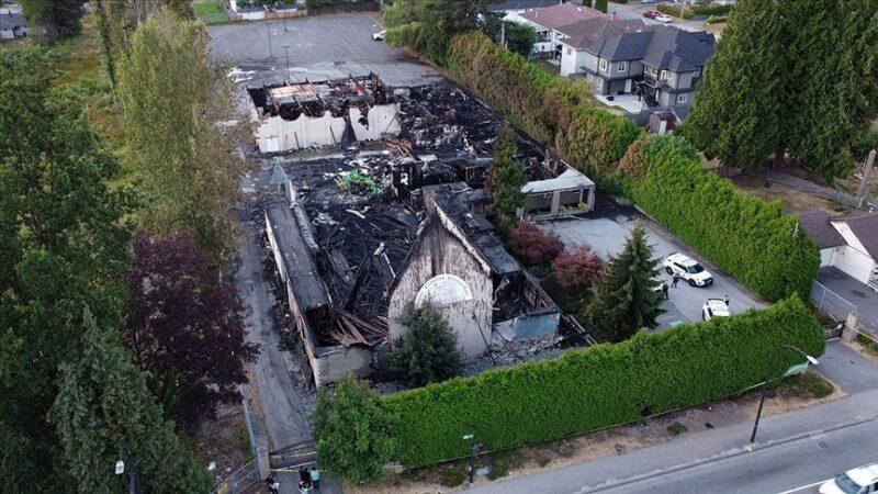 Kanada'da bir kilise daha 'şüpheli' yangında kül oldu
