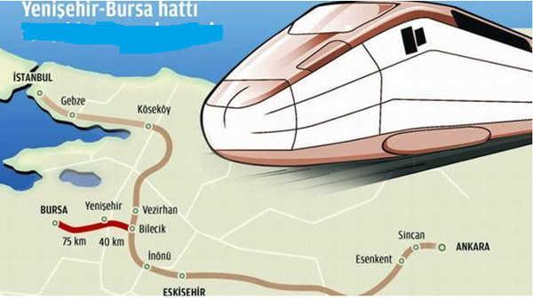 Bursa'ya hızlı tren için kara haber!