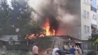 Bursa'da korkutan yangın! Herkes sokağa döküldü…