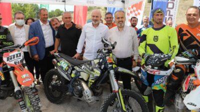 Türkiye Süper Enduro Şampiyonası'nın 3. ayağı Bursa'da tamamlandı