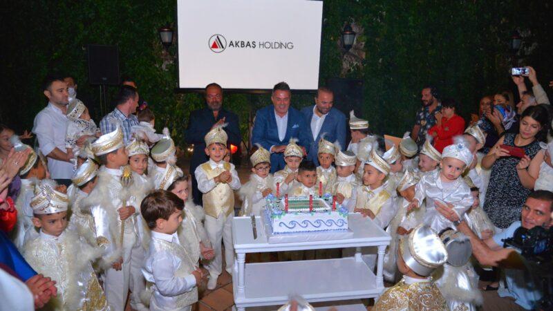 Akbaş Holding, 57 çalışanının çocuğunu sünnet ettirdi