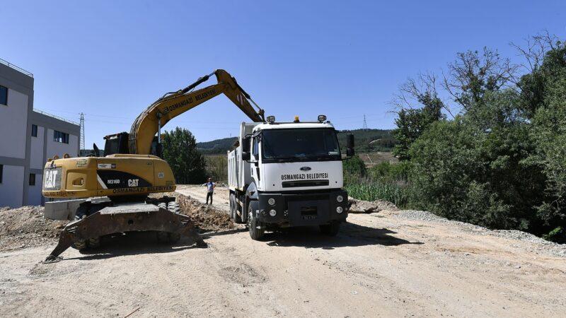Osmangazi'de ulaşım yatırımları hız kesmiyor
