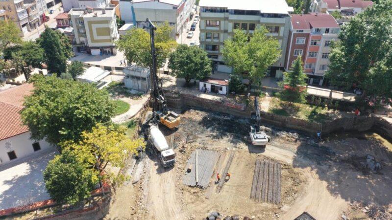 Kestel Belediyesi'nin vizyon projesine 650 fore kazık çakılıyor