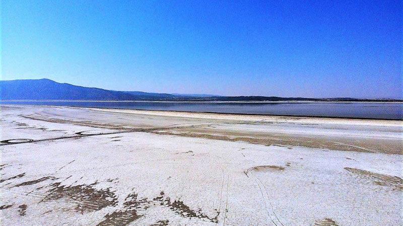 Türkiye'nin tek doğal sodyum kaynağı! Sular 1 kilometre çekildi