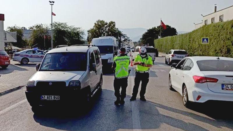Bursa'da servis sürücülerine sıkı denetim