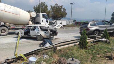 Bursa'da feci kaza: Ölü ve yaralılar var