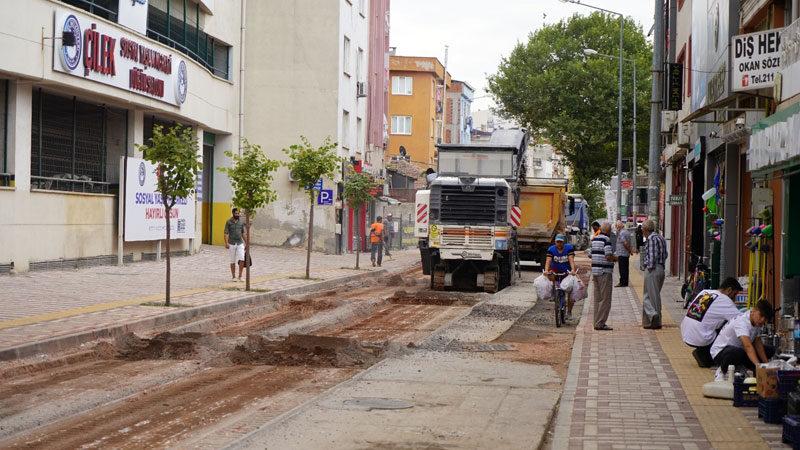 Kestel Belediyesi'nden asfalt mesaisi