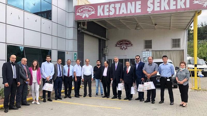 Ürdün Yatırım Heyeti Kardelen'i ziyaret etti