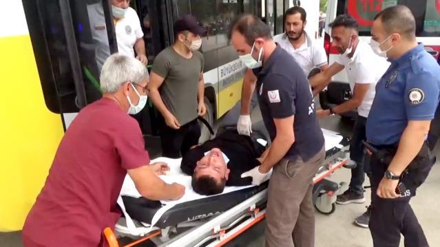Bursa'da halk otobüsü şoförü araçta fenalaşan yolcuyu hastaneye yetiştirdi