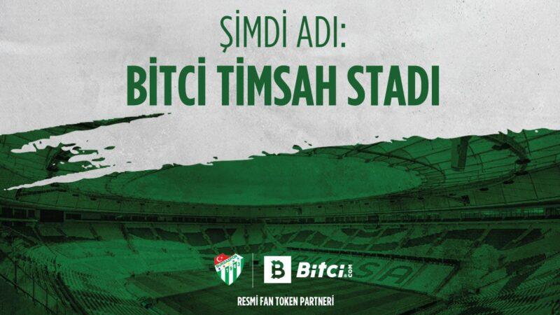 Bursaspor'dan Bitci'ye teşekkür mesajı!