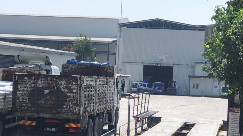 Bursa'da fabrikada feci ölüm