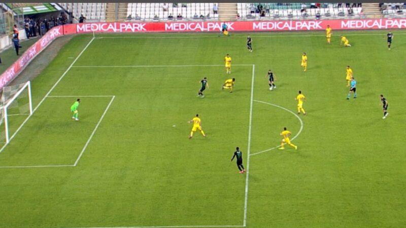 Bursaspor'un golü iptal edildi! Bu nasıl ofsayt?