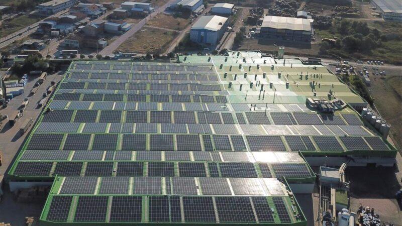 Bursa'daki bu fabrika artık kendi enerjisini üretiyor!