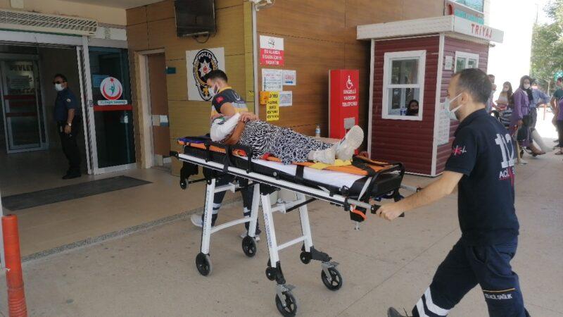 Bursa'da kamyonetin çarptığı kadın yaralandı, o anlar kamerada…