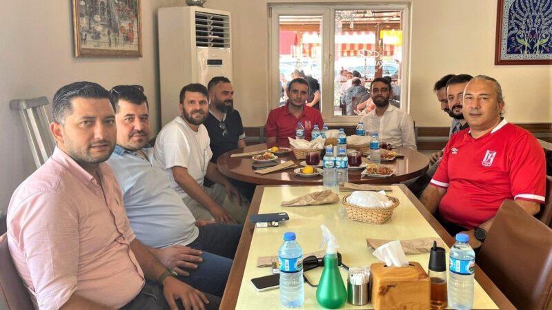Bursaspor'un sürpriz ziyaretçileri!