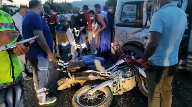 Bursa'da motosiklet faciası! Ölü ve yaralılar var…