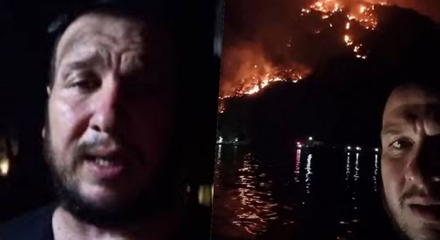 Şahan Gökbakar sabaha karşı kötü haberi verdi: Alevler evi sardı