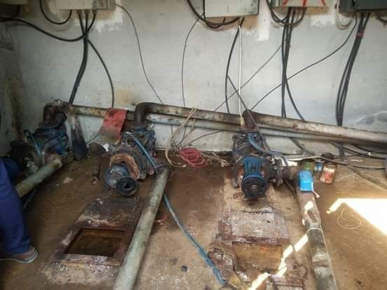 Bursa'da su motorlarını çaldılar
