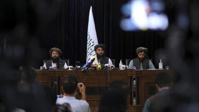 Taliban heyeti ile Afgan siyasiler bir araya geldi