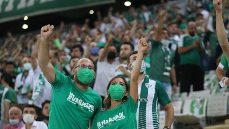 Bursa'da 526 günlük hasret bitti! Maça kaç kişi gitti?