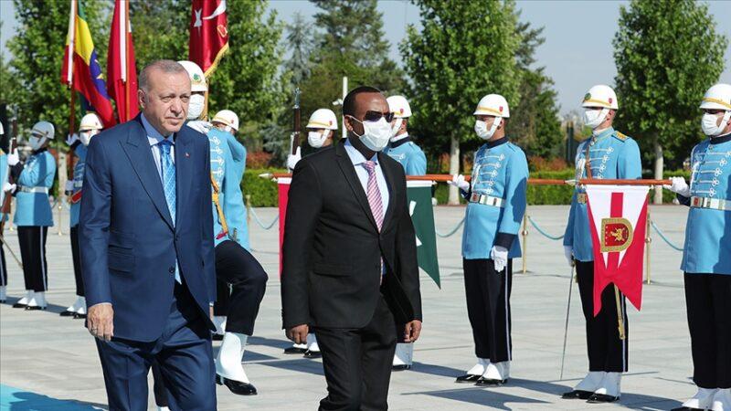 Etiyopya Başbakanı Ahmed Türkiye'de