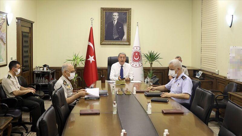 MSB'de 'Afganistan' toplantısı