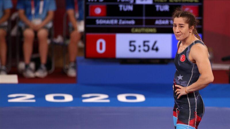 Yasemin Adar Tokyo 2020'de bronz madalya kazandı
