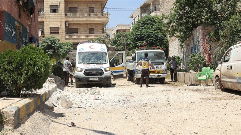 Afrin'e füzeli saldırı! 3 sivil hayatını kaybetti
