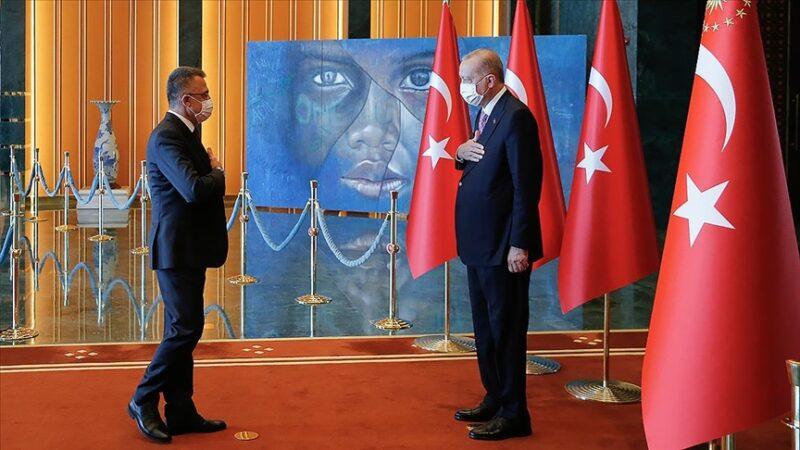 Cumhurbaşkanı Erdoğan tebrikleri kabul etti! Dikkat çeken tablo