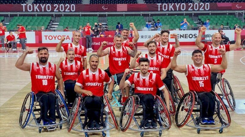 Tekerlekli Sandalye Basketbol Milli Takımı Tokyo'da çeyrek finalde