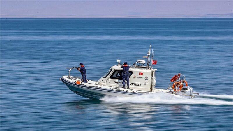 Van Gölü'nün güvenliği artık Sahil Güvenlik'e emanet