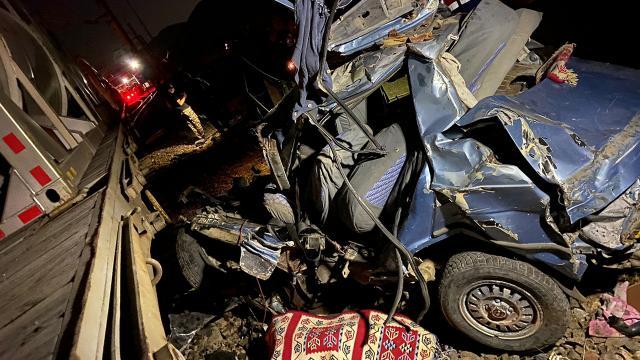 Korkunç kaza! Anne ile oğlu öldü
