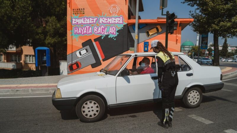 Bursa'da anlamlı uyarı!
