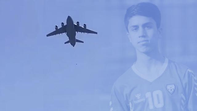 ABD uçağından düşen kişi milli futbolcu çıktı