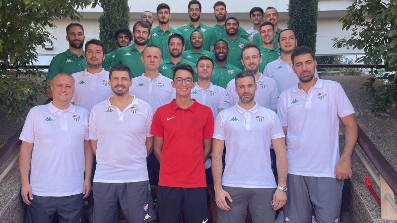 Bursaspor'a sürpriz ziyaretçi!