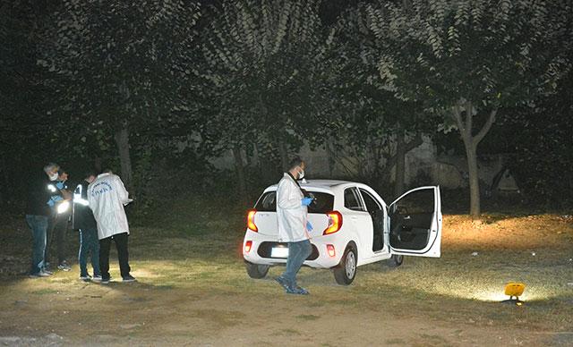 Parkta kadın cinayeti