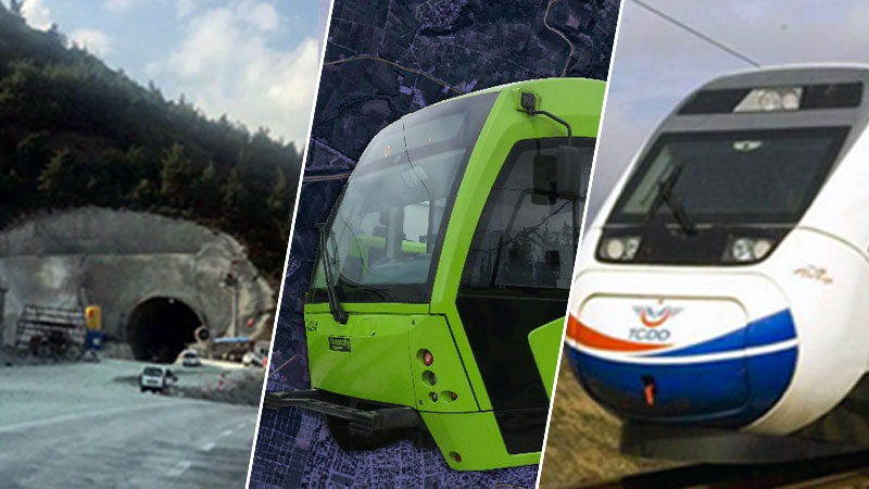Gelmeyen tren, bitmeyen tüneller, bekleyen yol ve viyadükler… Bursa'dan Ankara'ya 'ulaşım' çıkarması