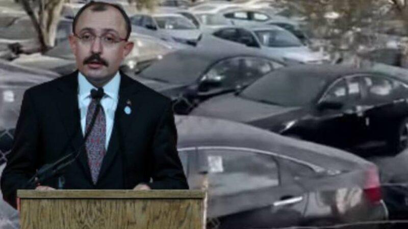 Bakan Muş'tan otomobilde stokçuluk iddialarına açıklama