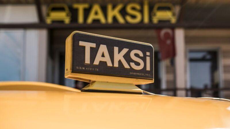 İçişleri'nden taksi genelgesi