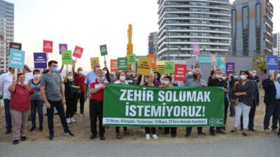 Bursa'da 5 mahalle isyan etti: 'Zehir solumak istemiyoruz'
