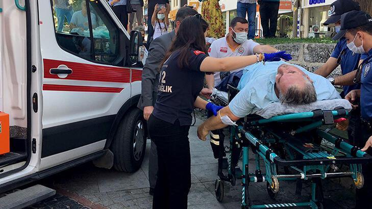 2020 yılı ahisi törende fenalaştı, ambulansta kalbi durdu