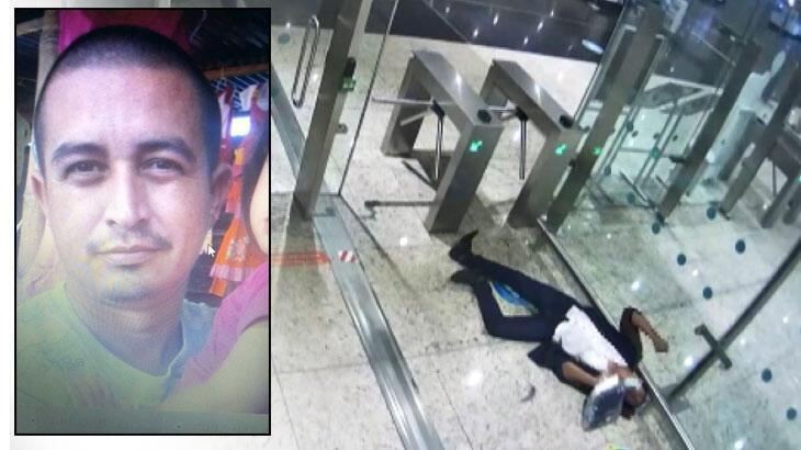 İstanbul Havalimanı'nda kan donduran ölüm! Midesinde patladı