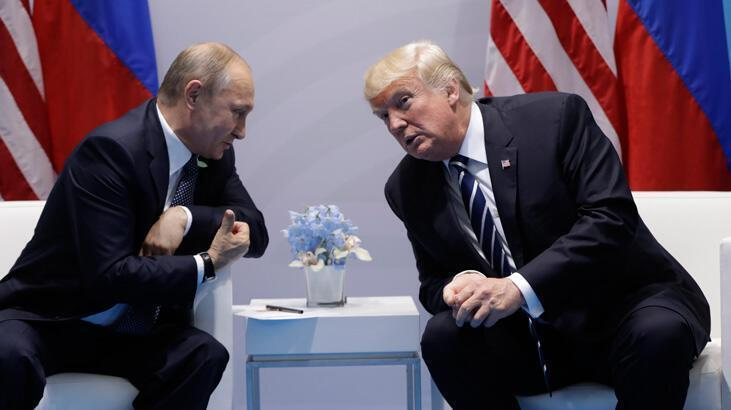 """Şok iddia! Trump, Putin'e """"sana kameralar önünde biraz sert davranacağım"""" dedi"""
