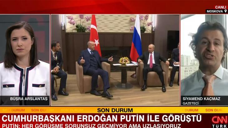 Erdoğan-Putin görüşmesine Rus basını ne dedi? İşte detaylar…
