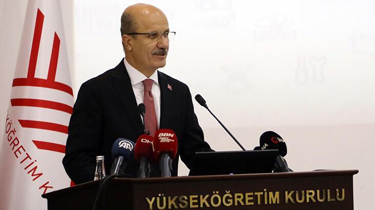 YÖK Başkanı Özvar: Öğretim elemanı profilini yakından takip edeceğiz