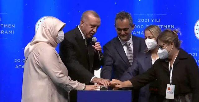 Öğretmen atamaları 2021 sonuçları öğrenme linki! Cumhurbaşkanı Erdoğan butona bastı