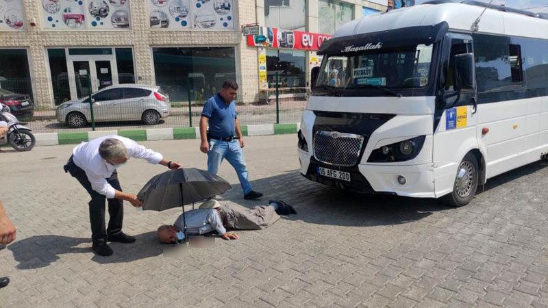 Bursa'da feci kaza! Yaşlı adam ağır yaralandı