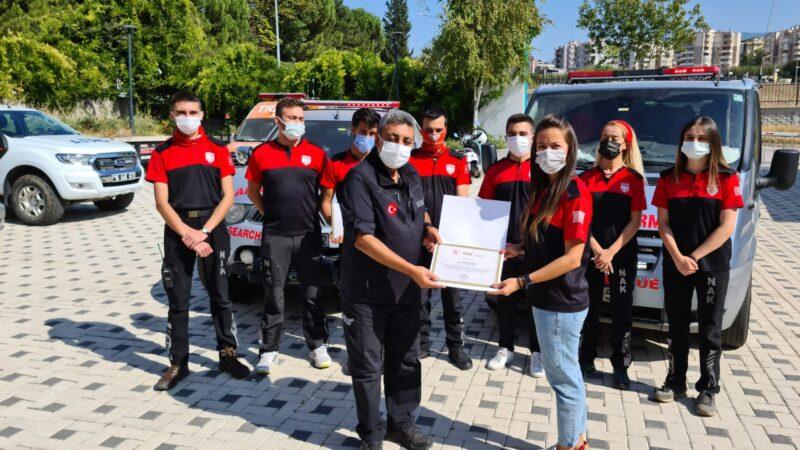 İçişleri Bakanlığından Bursa'ya teşekkür belgesi